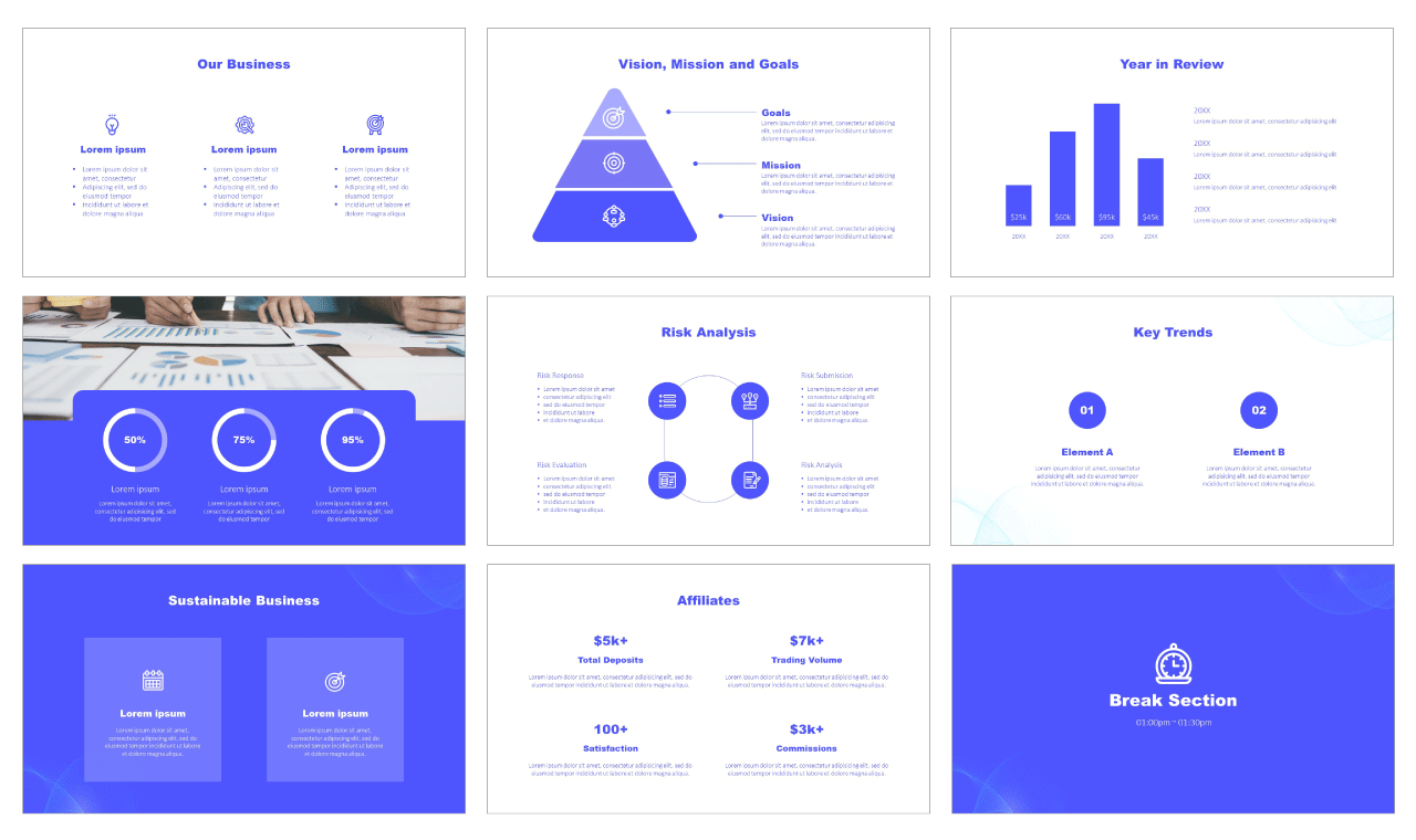 Business Multipurpose Free PowerPoint Template
