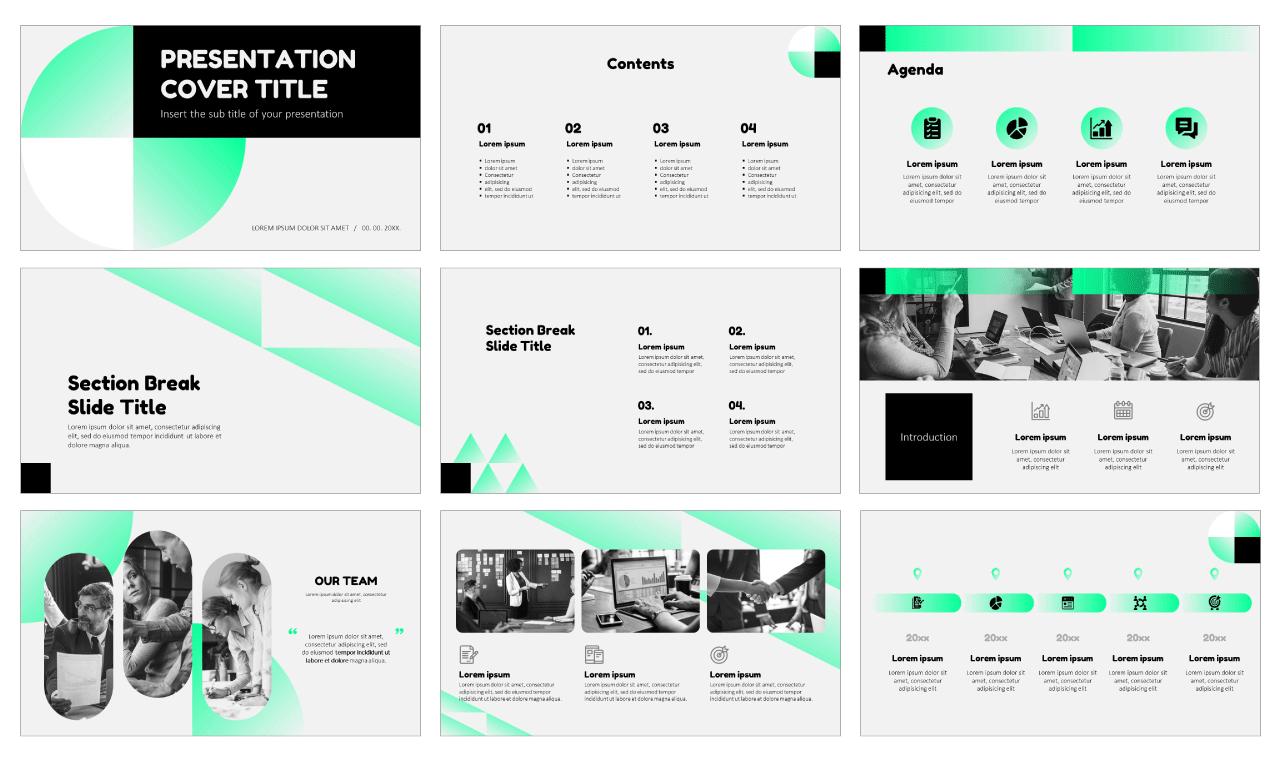 Business Proposal Design Free Google Slides Themes