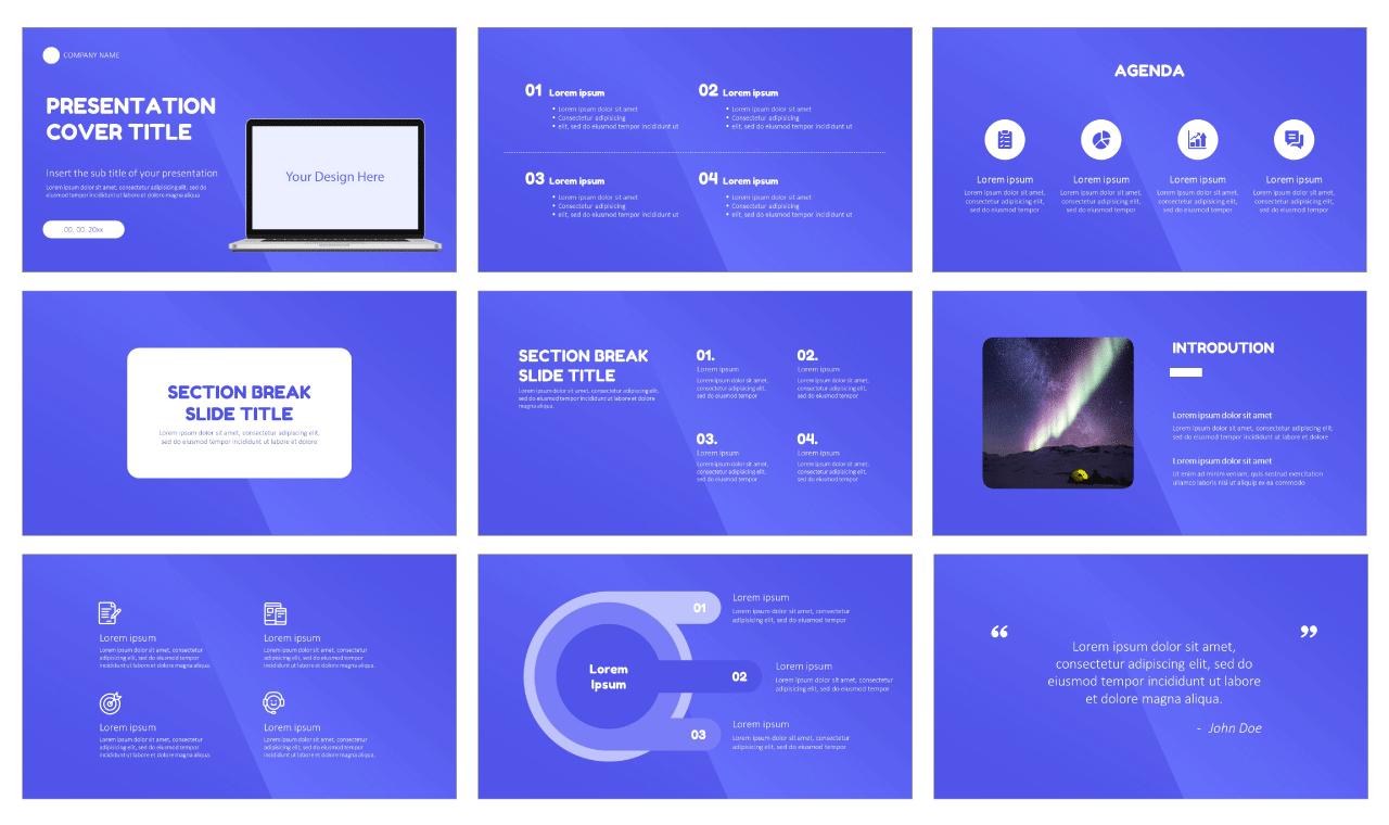 Website Design Service Free Google Slides theme