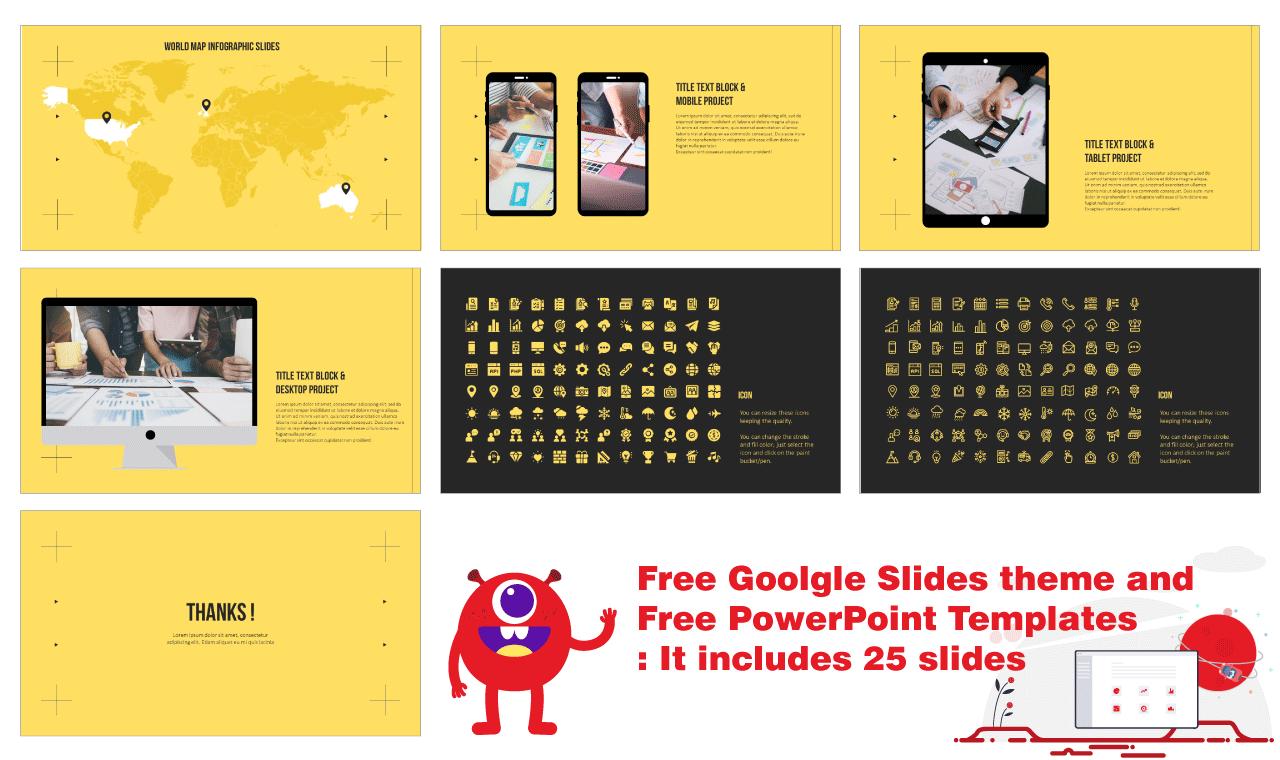 Modern simple design Presentation Background Design Google Slides PowerPoint Templates Free download