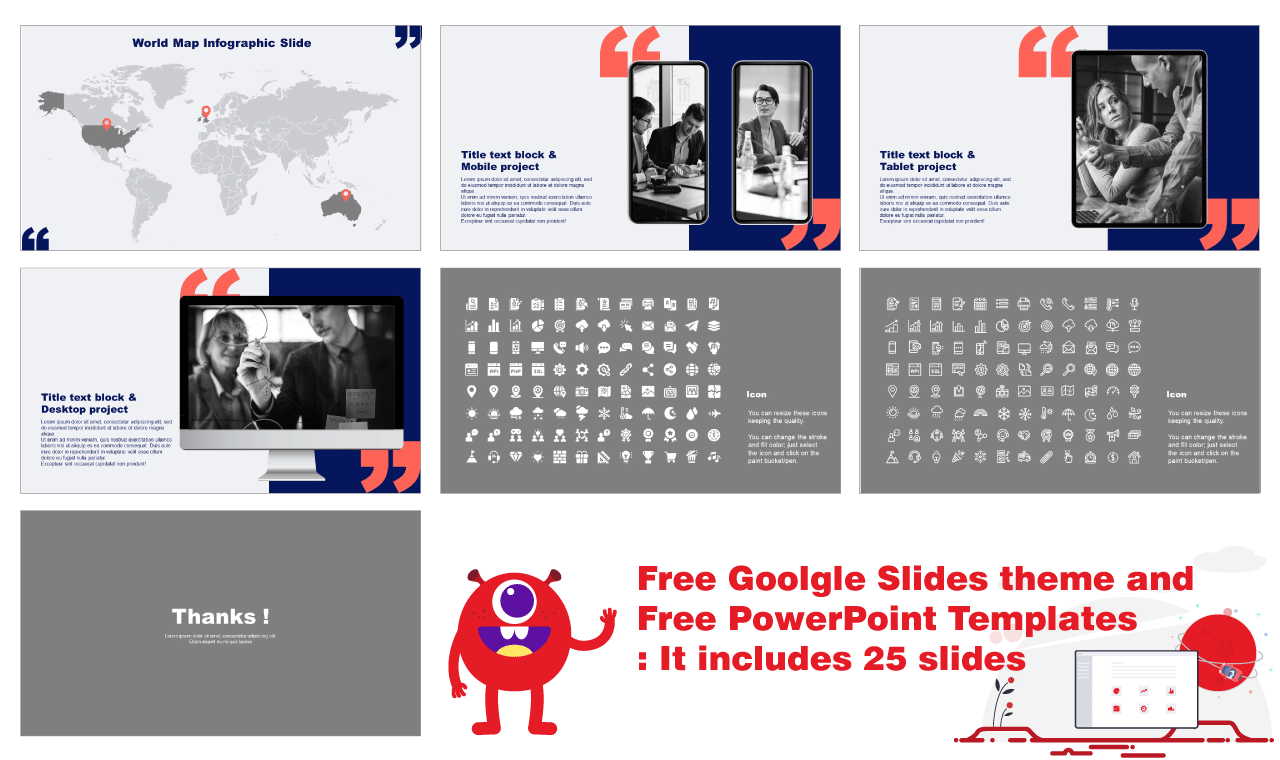 New Business Launch Google Slides PowerPoint Templates Free download