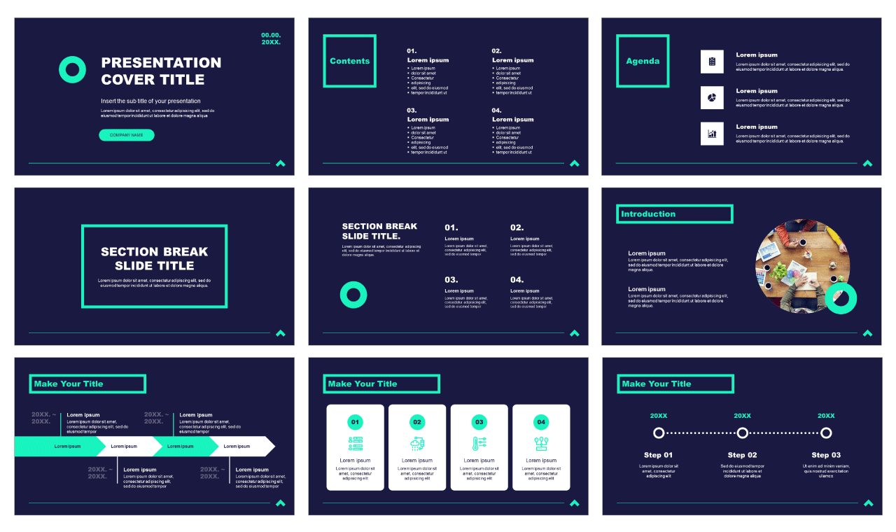 Simplicity Professional Business Free Google Slides PowerPoint Templates