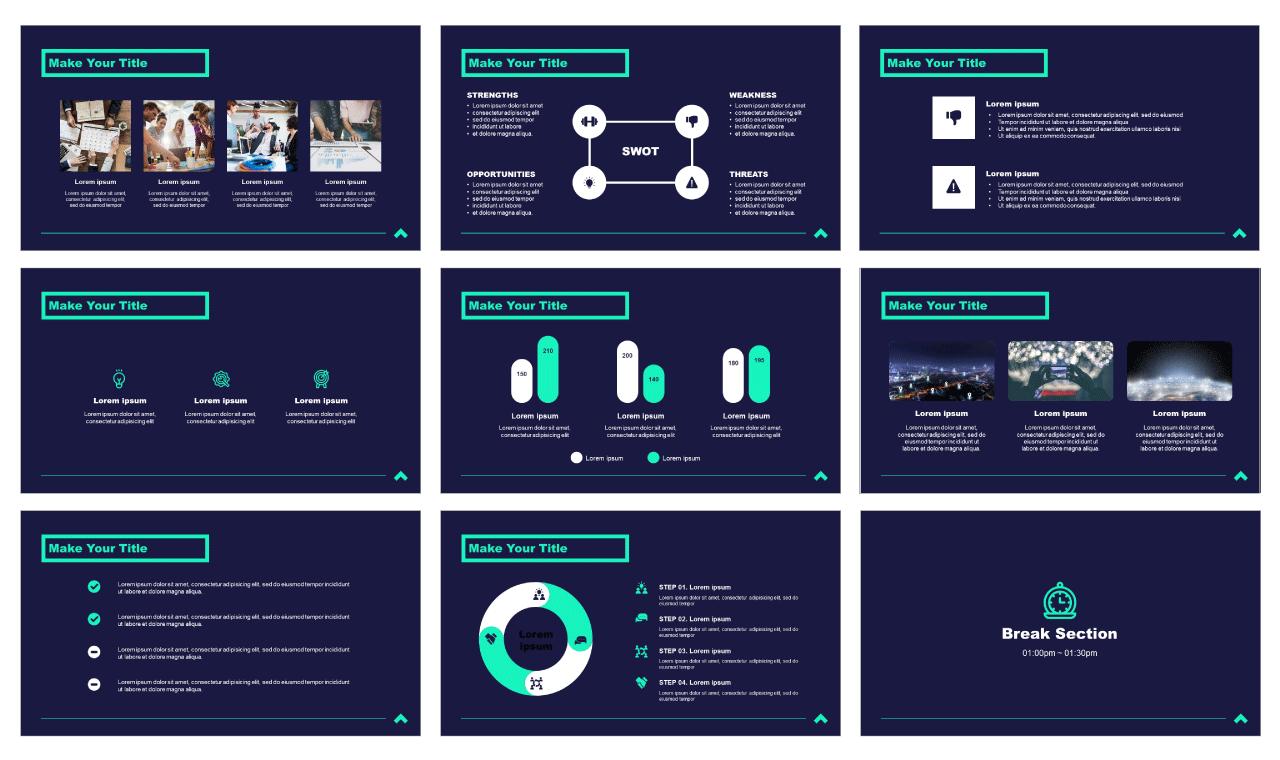 Simplicity Professional Business Google Slides PowerPoint Background Design Templates