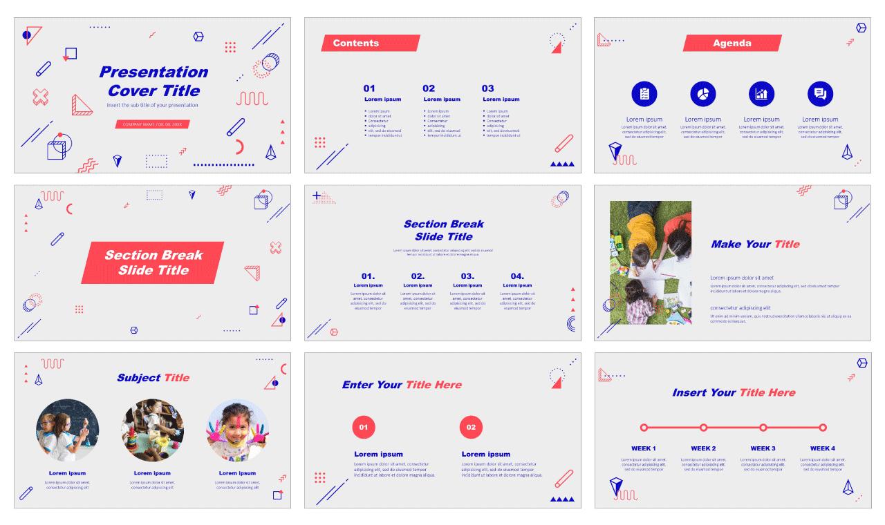 Teaching Creativity Free Google Slides Design theme