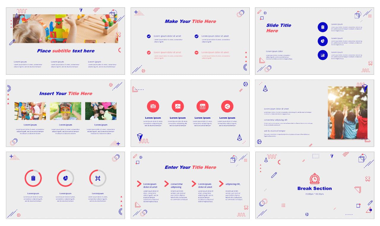 Teaching Creativity Free PowerPoint design templates