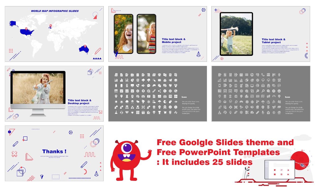 Teaching Creativity Google Slides PowerPoint Templates free download