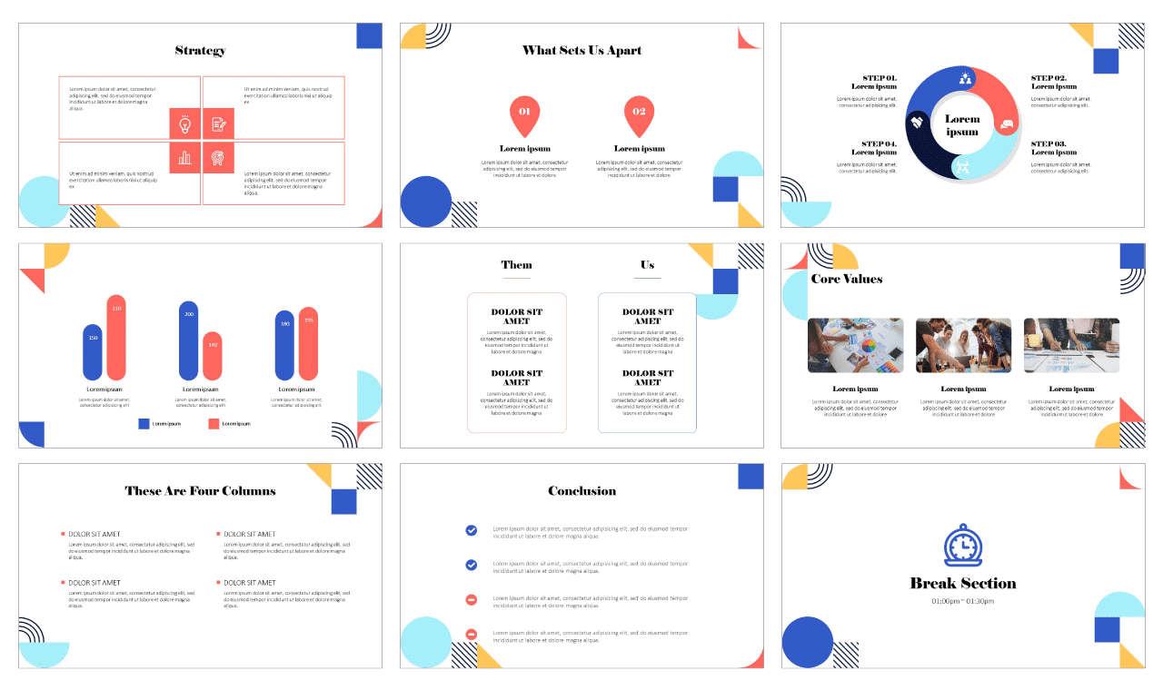 The Art in Life Google Slides PowerPoint Design templates Free download