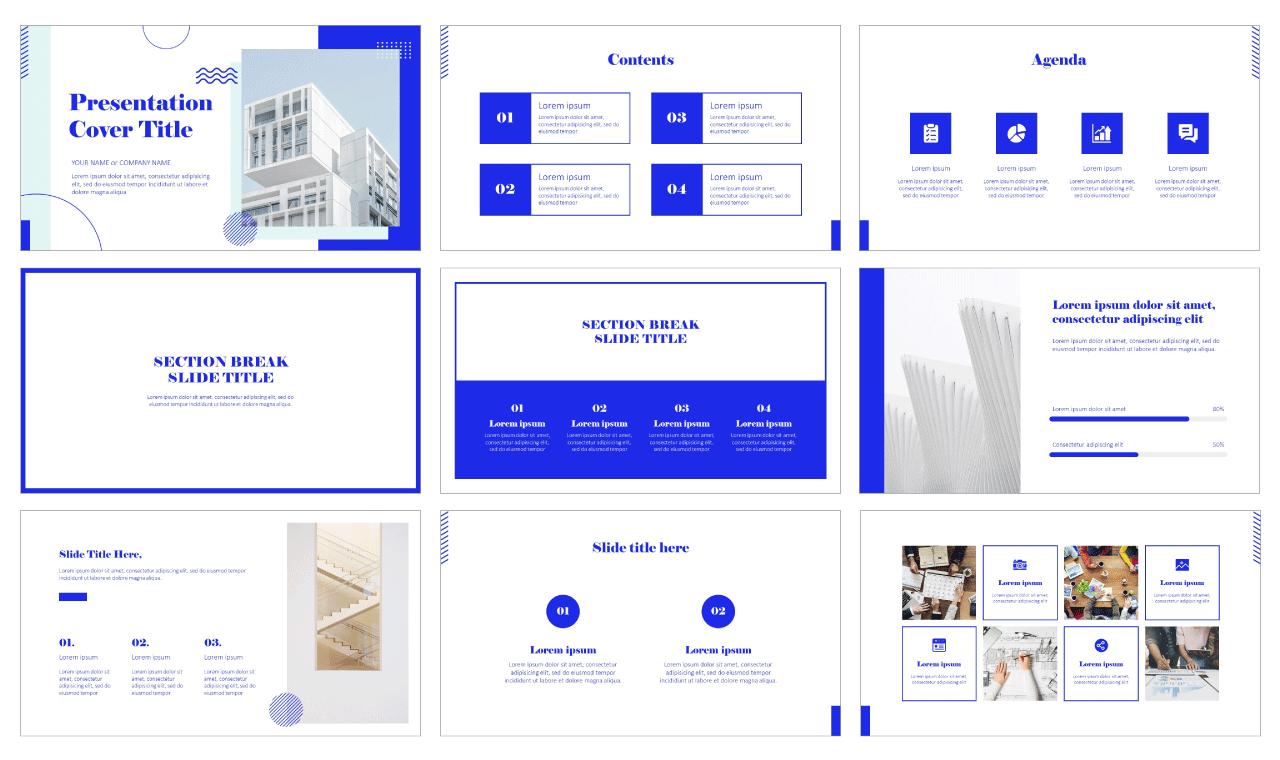Geometric Minimal Graphic Free Google Slides Themes PowerPoint Templates