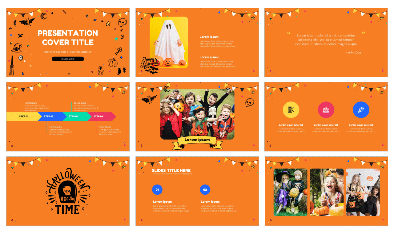 Happy Halloween Party Free Google Slides Themes PowerPoint Templates