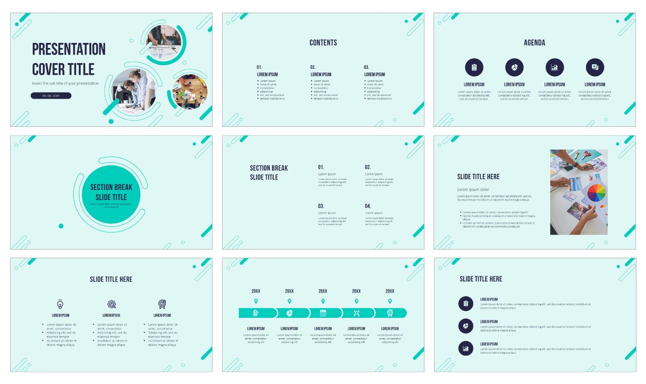 Multipurpose Circle Elements Free Google Slides Themes PowerPoint Templates