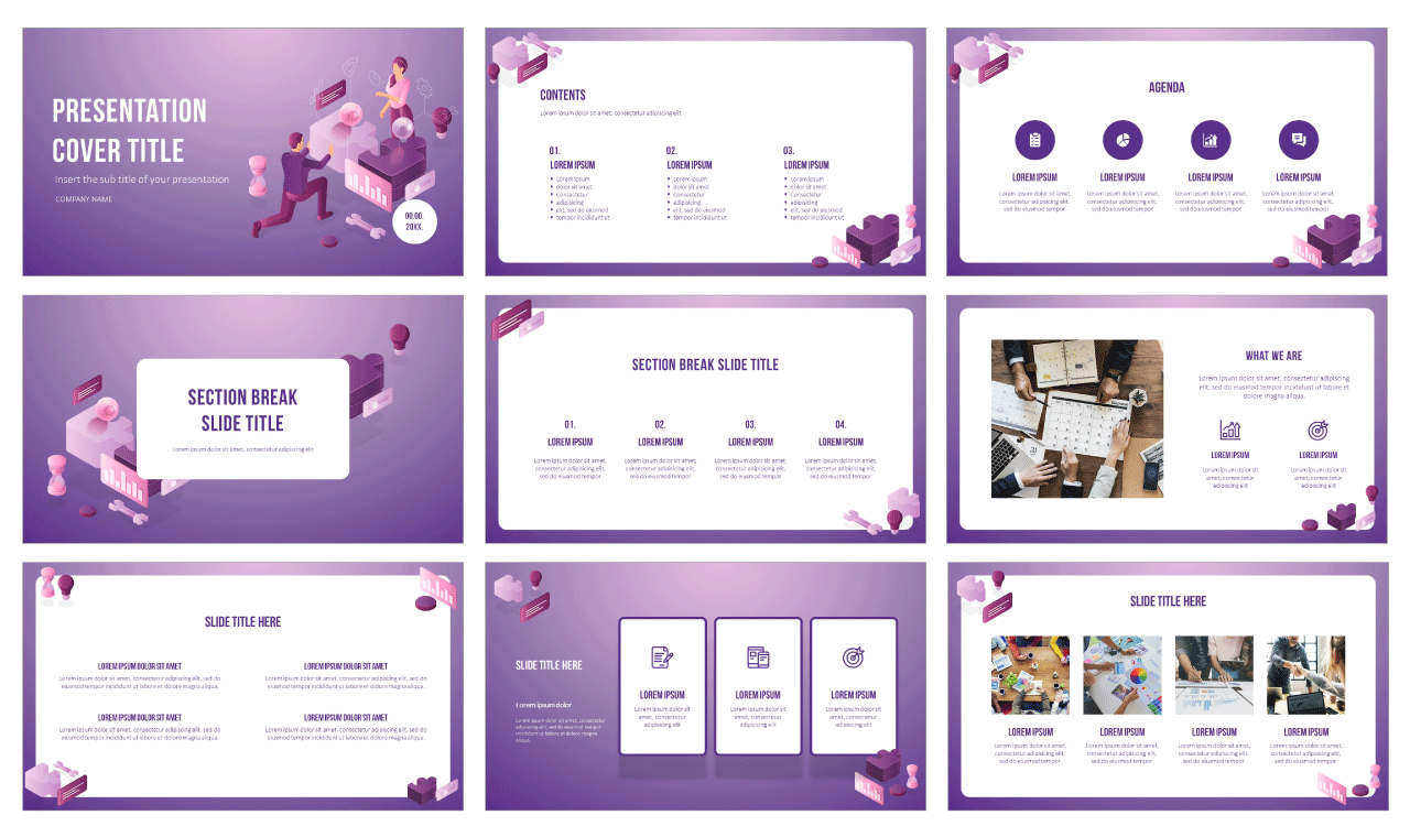 Project Management Approach Free Google Slides themes PowerPoint Templates