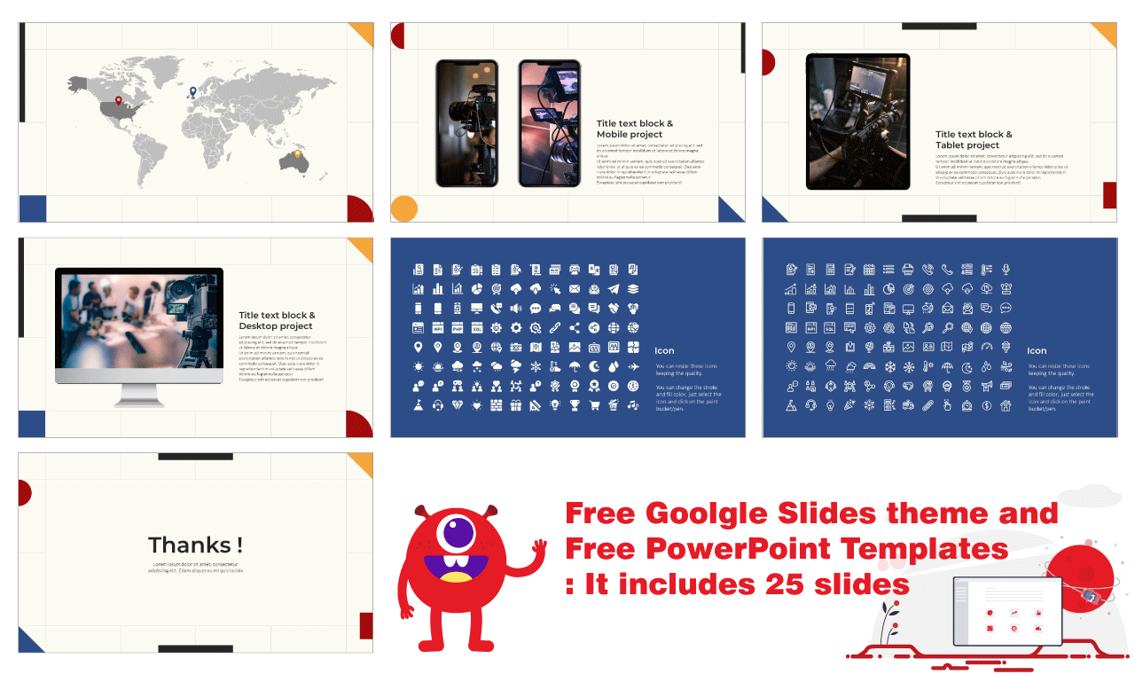 Simple Graphic Design Presentation Background Google Slides Themes PowerPoint Templates Free download