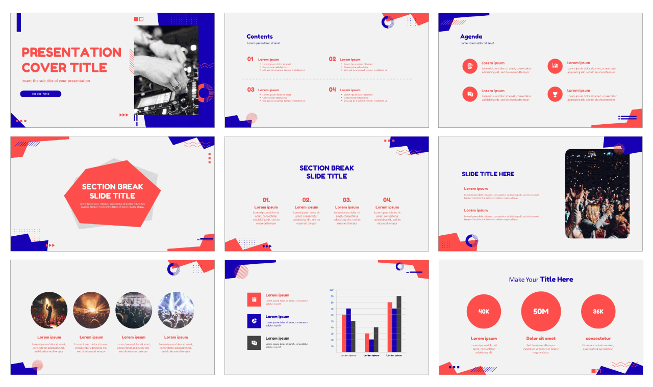 Universal Trend Geometric Free Google Slides Themes and PowerPoint Templates