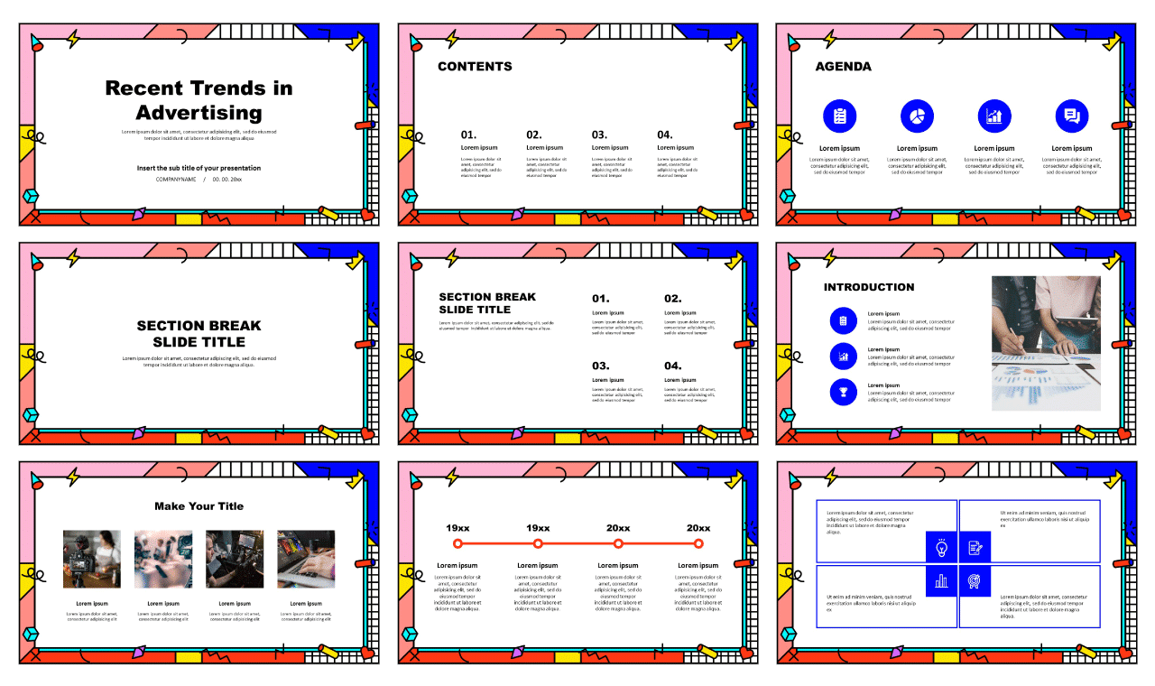 Advertising Trends Free Google Slides theme and PowerPoint template
