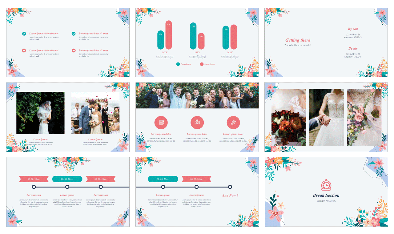 Anniversary PowerPoint Template Google Slides Theme free download