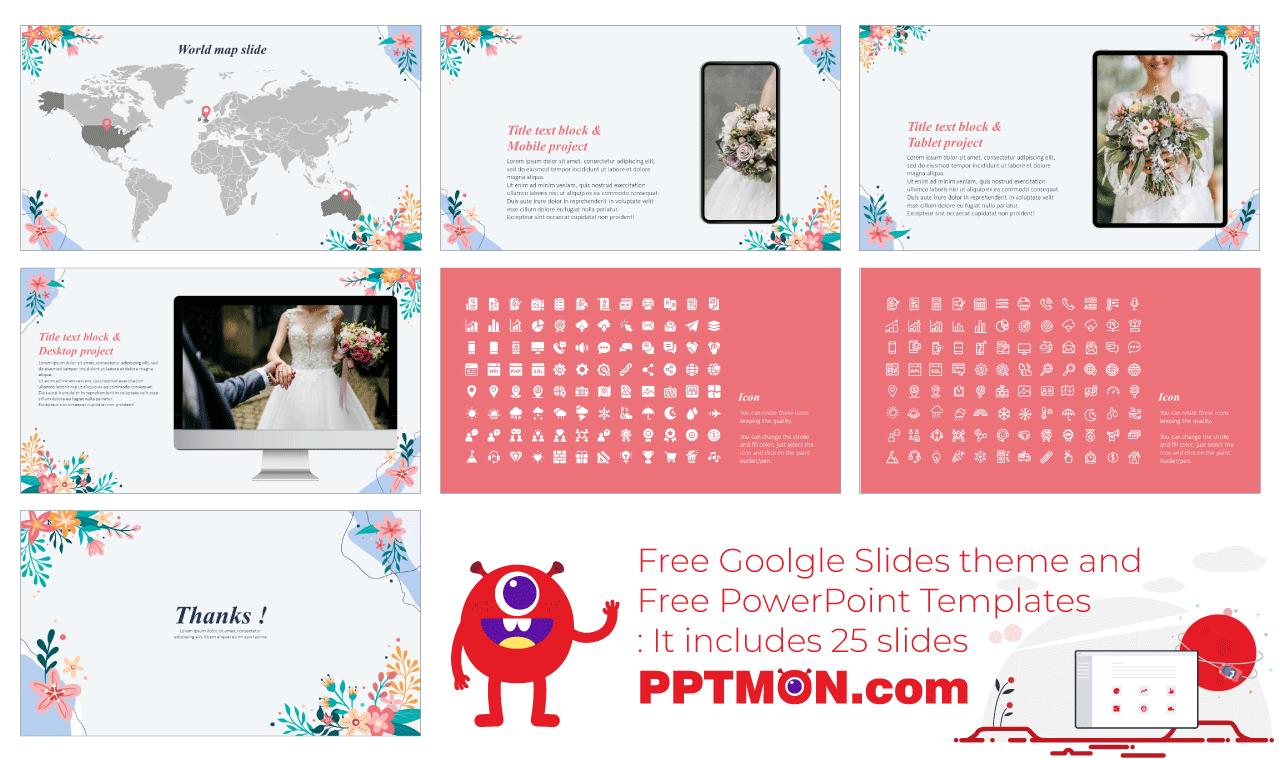 Anniversary presentation background design Free Google Slides Theme PowerPoint Template