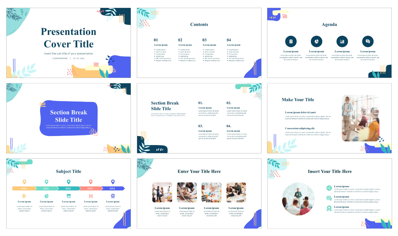 Awesome Memphis Free Google Slides Themes PowerPoint Templates