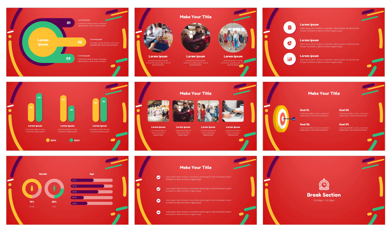 Black Friday Special Offer PowerPoint Template Google Slides Theme Design Free download
