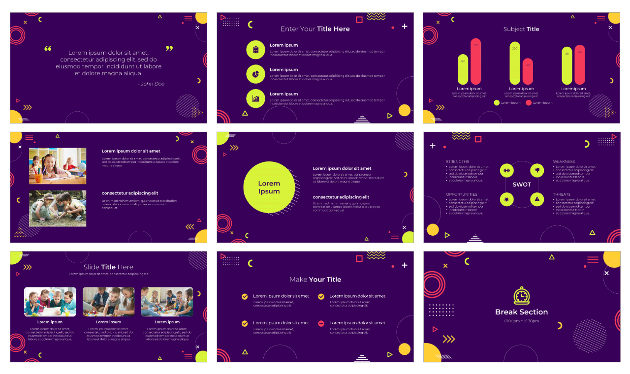 Boost Creative Thinking Google Slides Theme PowerPoint Template Free Download