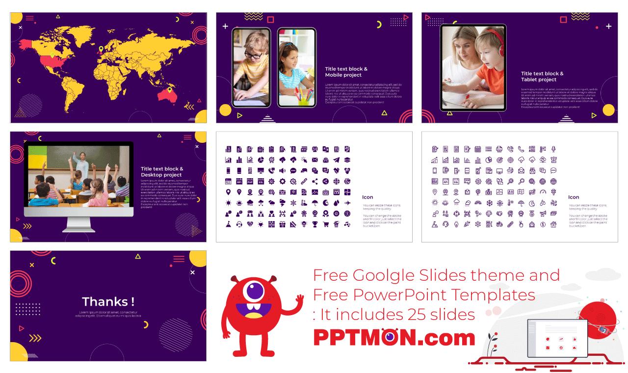 Boost Creative Thinking Presentation Background Design Google Slides Theme PowerPoint Template Free Download