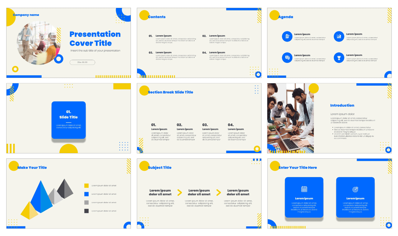 Business Meeting Free Google Slides Theme PowerPoint Template