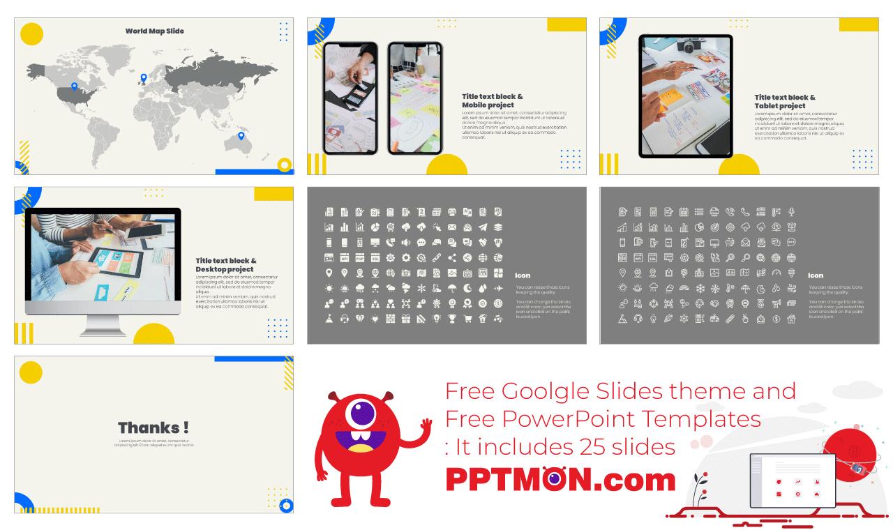 Business Meeting Presentation background design Free Google Slides Theme PowerPoint Template