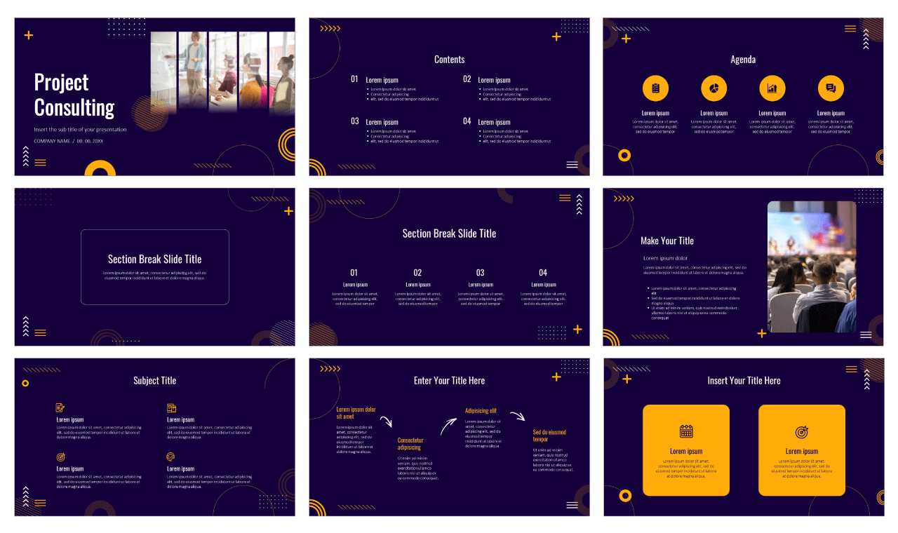 Consulting Free Google Slides Theme PowerPoint Template