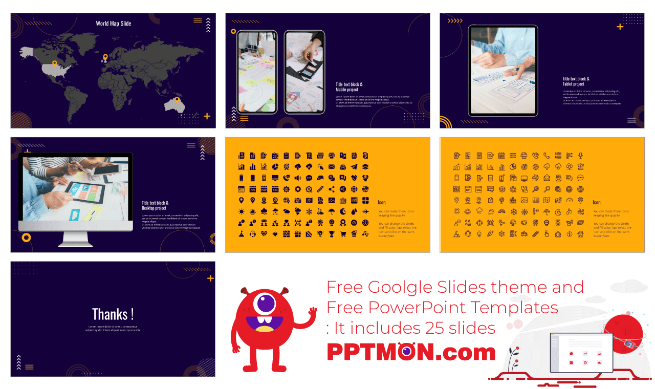 Consulting Presentation background design Free Google Slides Theme PowerPoint Template