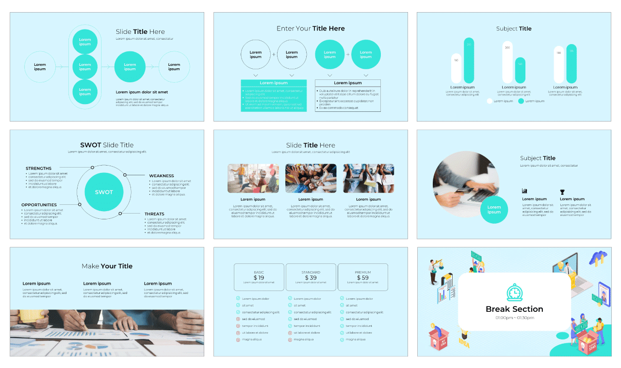 Crowdfunding Campaign google slides theme and powerpoint template free download