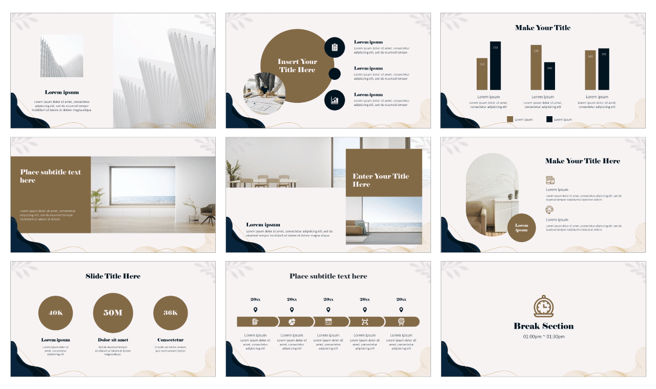 Elegant Invitation Card Google Slides Theme and PowerPoint Template Free download