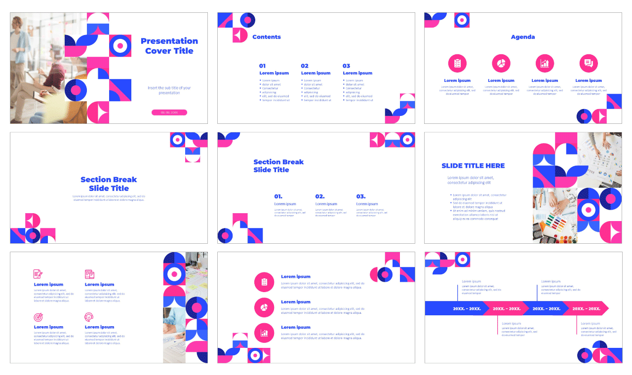 Geometric Graphic Design Free Google Slides theme and PowerPoint template