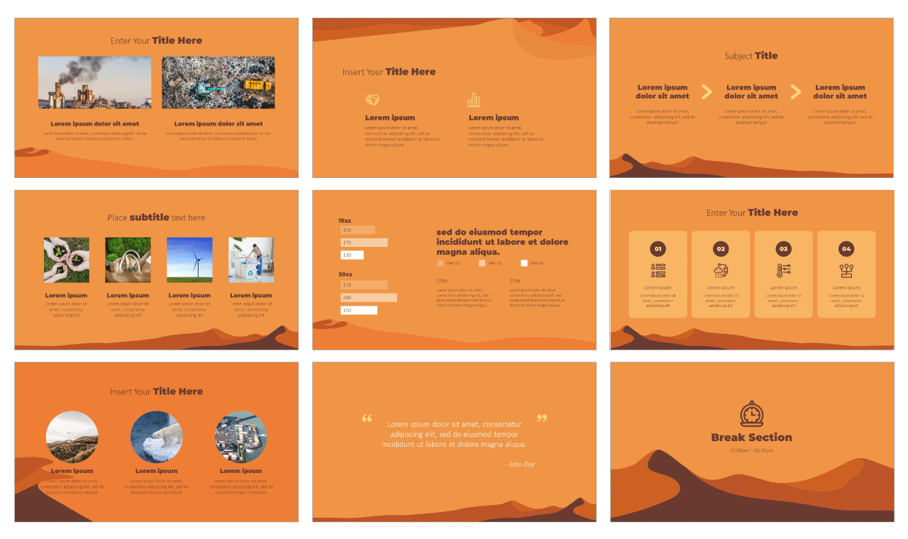 Global Warming PowerPoint Templates Google Slides Themes Free download