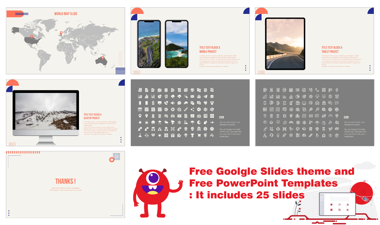 My Travel Story Presentation Backgorund Design PowerPoint Templates Google Slides Themes Free download
