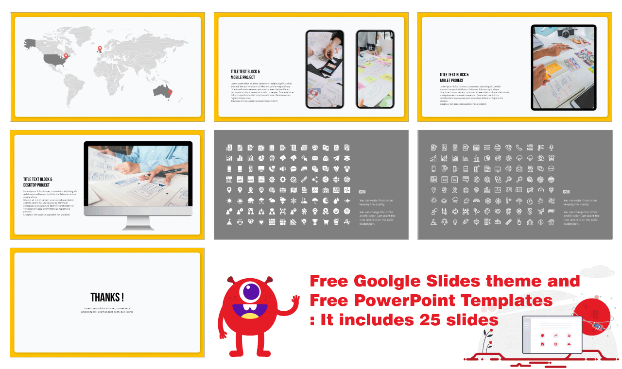 Process Infographic Diagram Presentation Design PowerPoint Template Google Slides Theme Free download