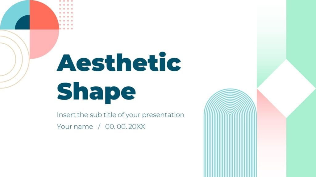 Aesthetic Shape Free Powerpoint Templates And Google Slides Themes