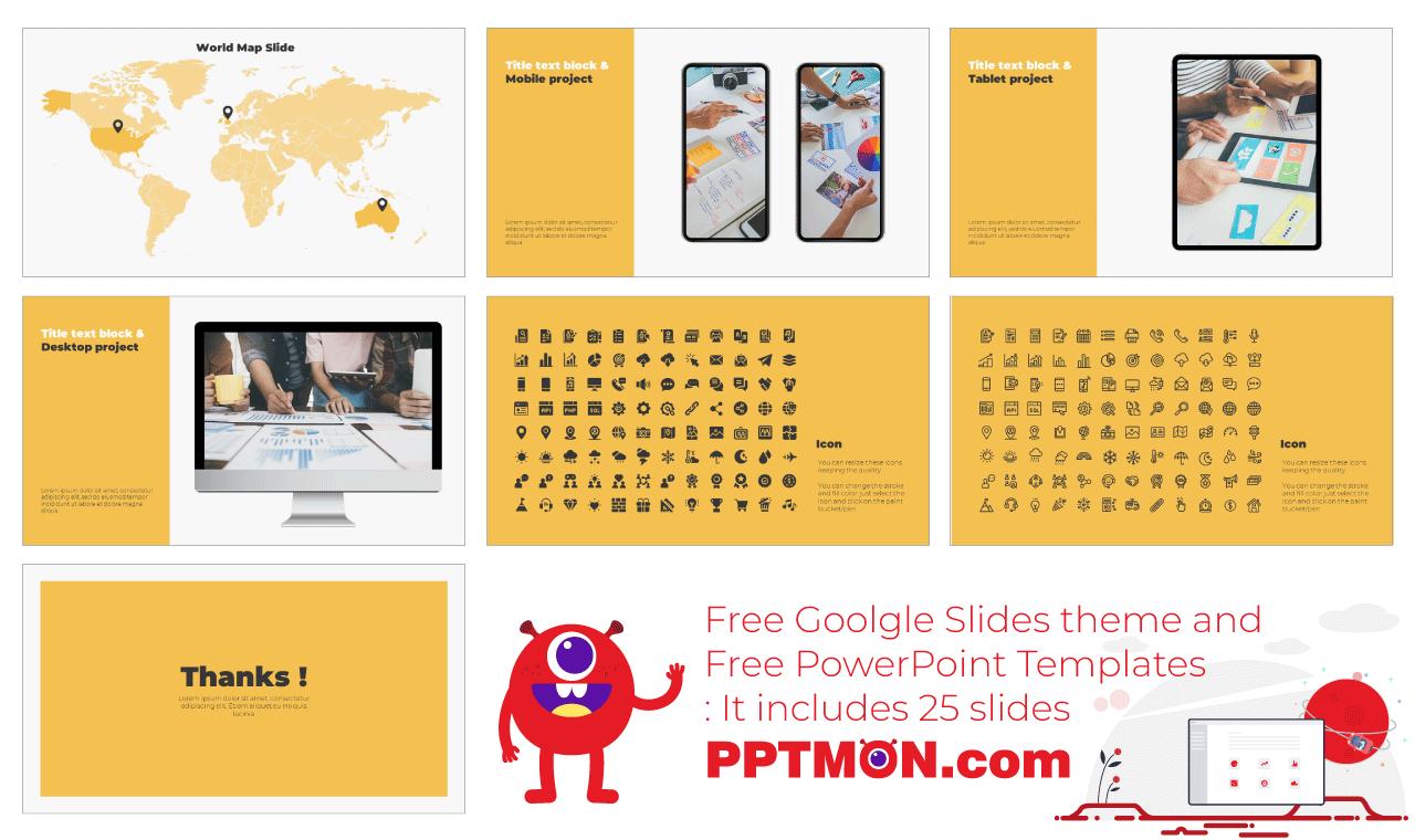 Business Presentation background design Free Google Slides theme PowerPoint Template