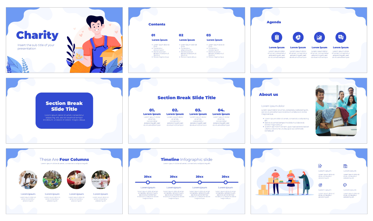 Charity Free Google Slides Theme PowerPoint Template