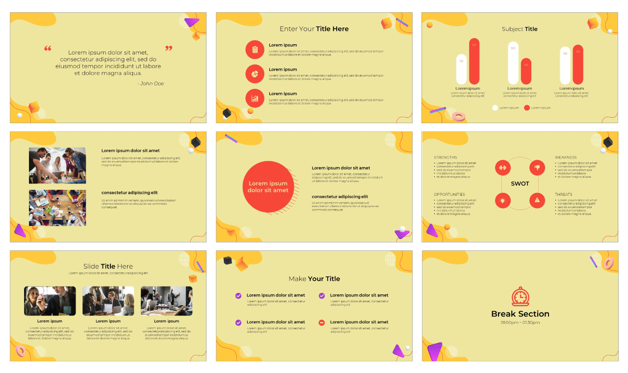 Effective Meeting PowerPoint Template Google Slides Theme Free download
