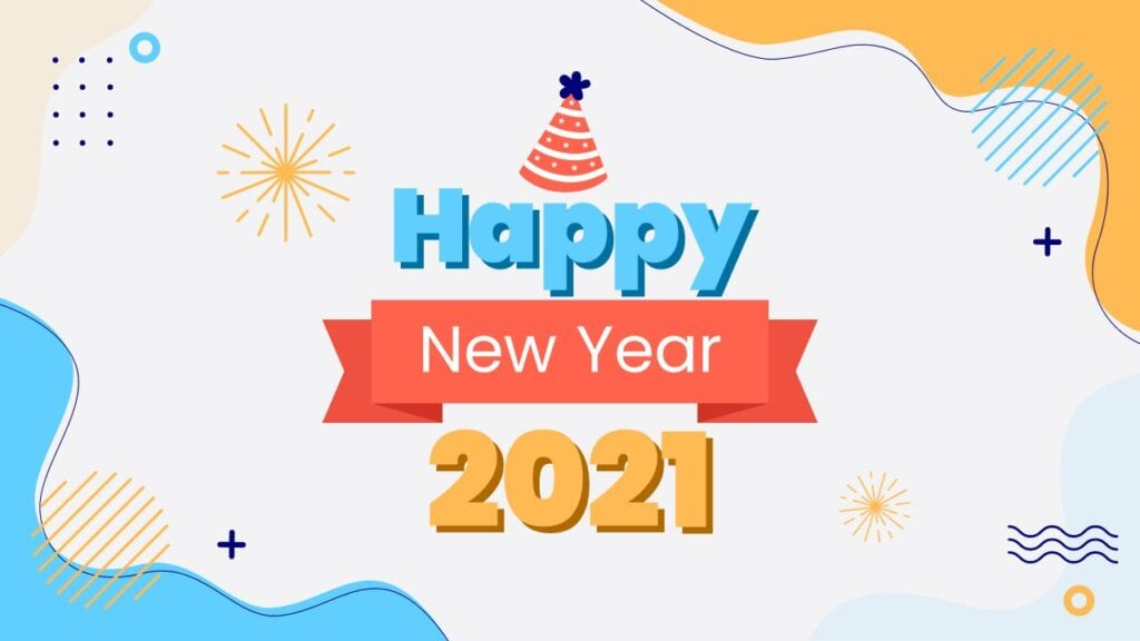 New Year 2021 Free Powerpoint Template And Google Slides Theme