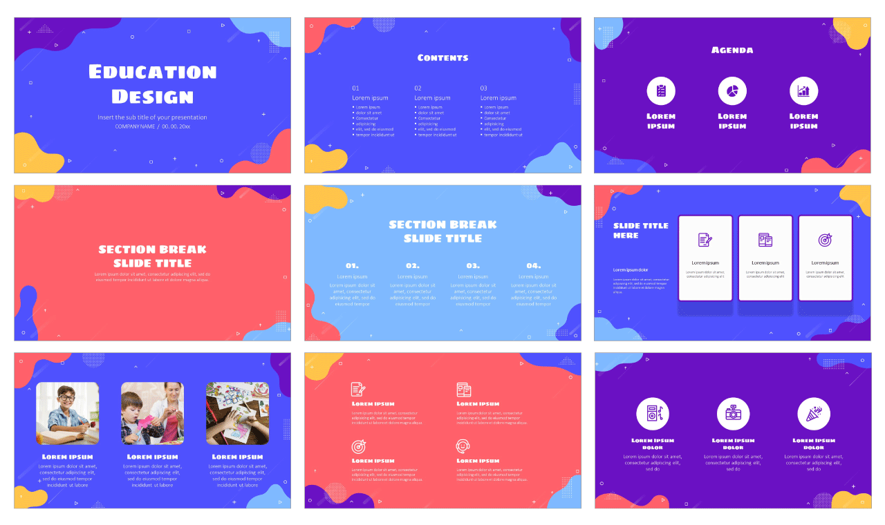 Waves Free Google Slides Theme PowerPoint Template