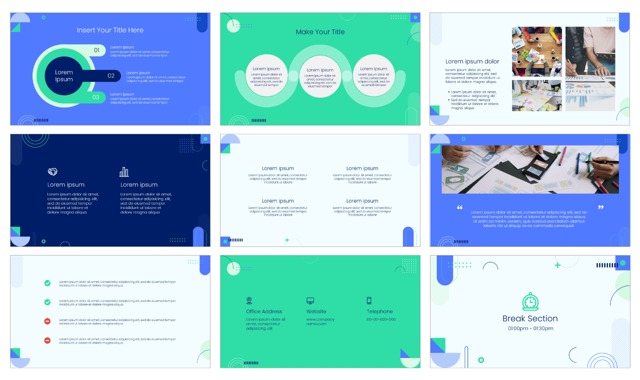 Workshop PowerPoint Template Google Slides Theme Free download