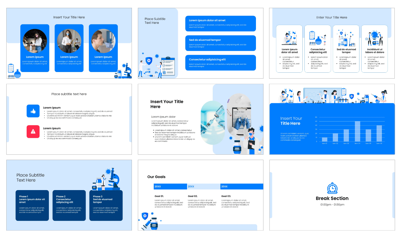 COVID-19 Vaccine PowerPoint Template Google Slides Theme Free download