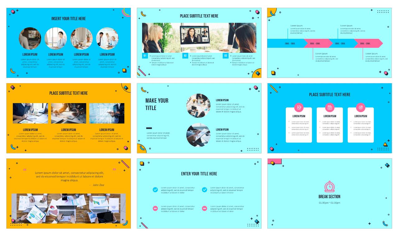 Webinar Google Slides Theme PowerPoint Template