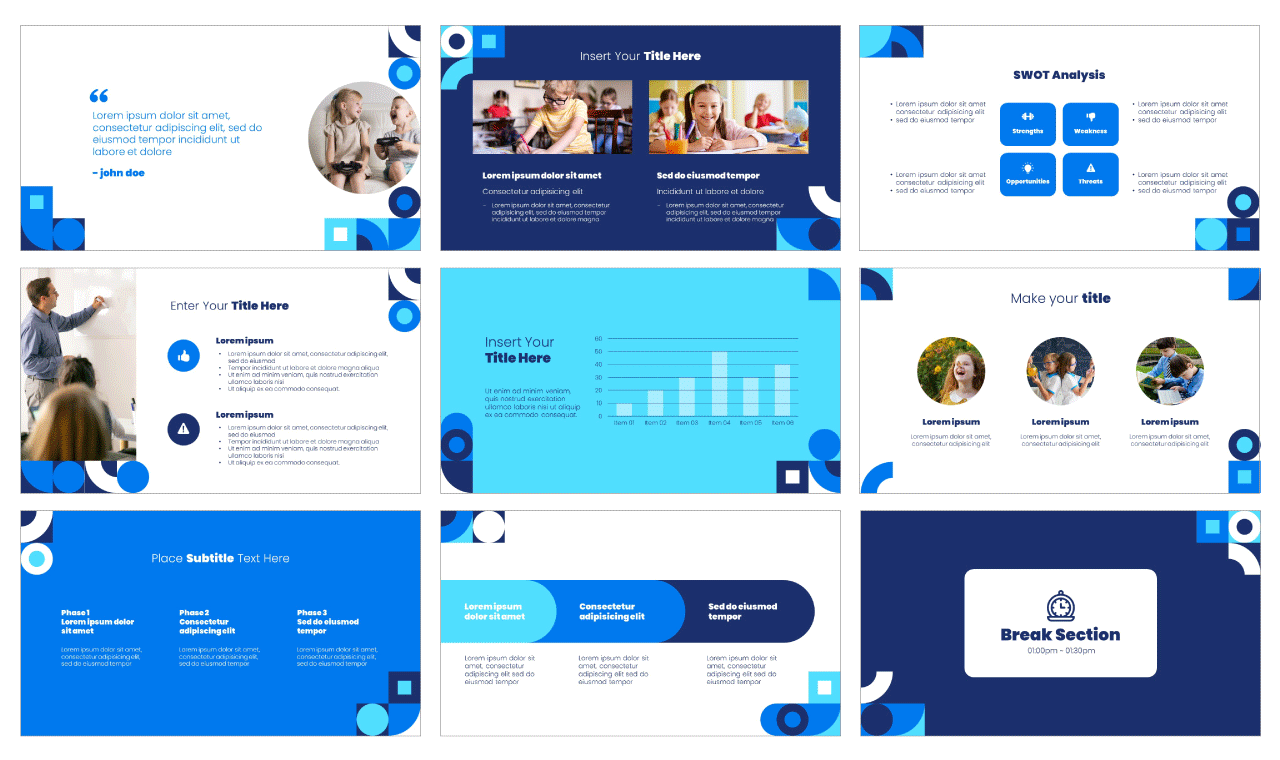 Homework PowerPoint Template Google Slides Theme Free download