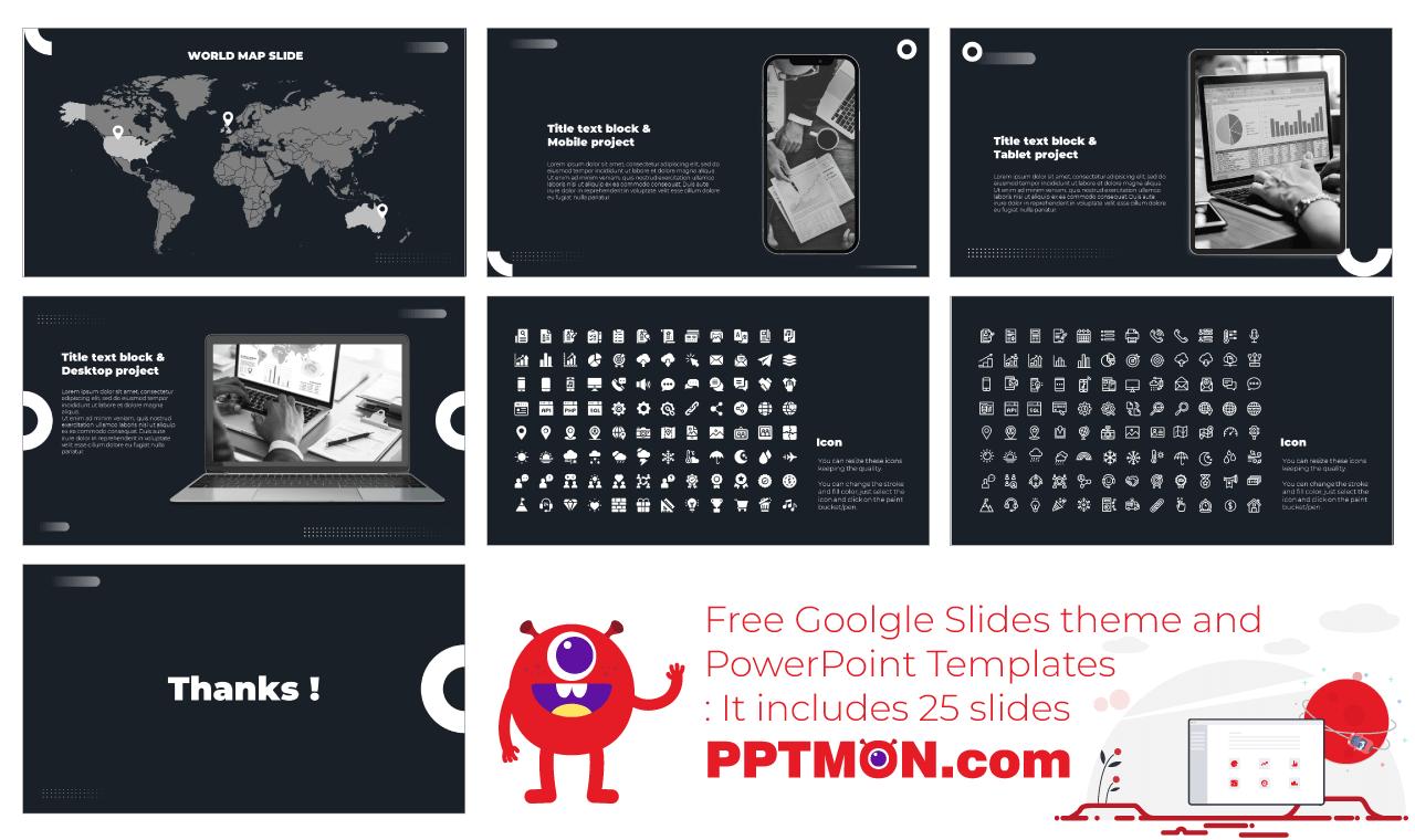 Investor Pitch Deck Presentation Background Design Free PowerPoint Template Google Slides Theme